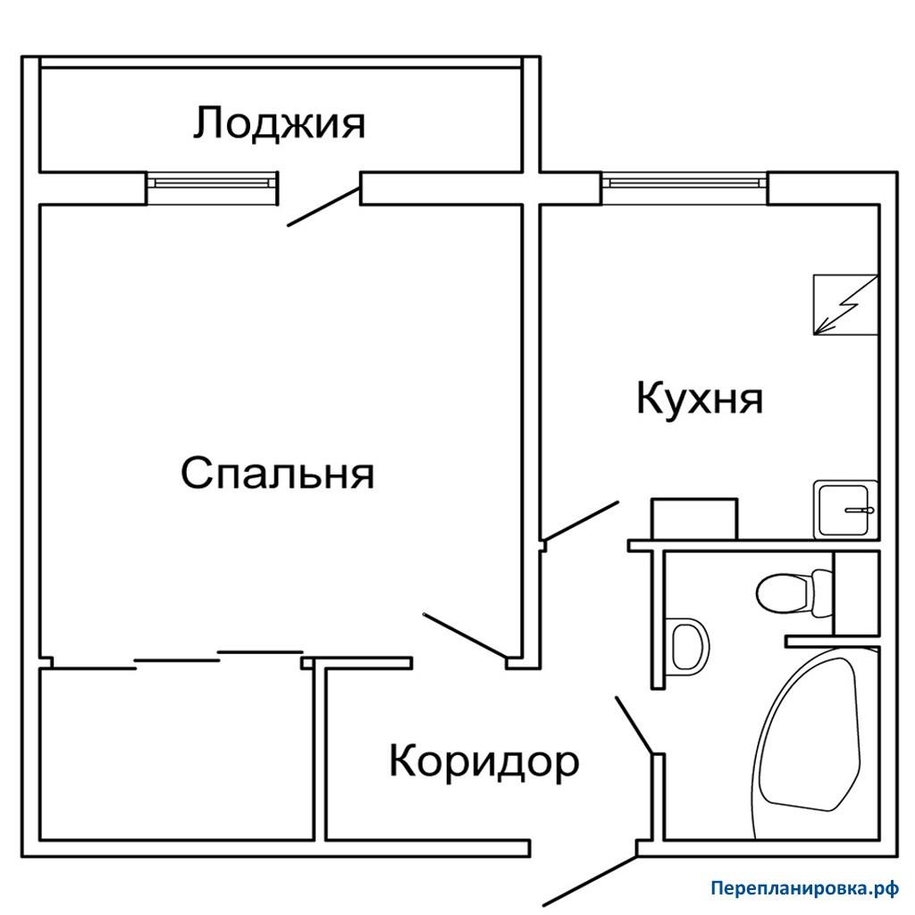 Серия п 46 двухкомнатная квартира две лоджии. - какой профил.