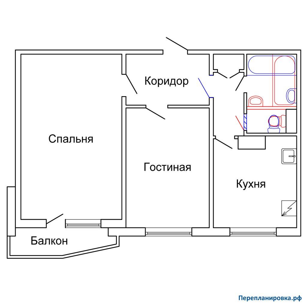 Продам 2-комнатную - улица ленина, 31к2, 49 кв.м. на 5 этаже.