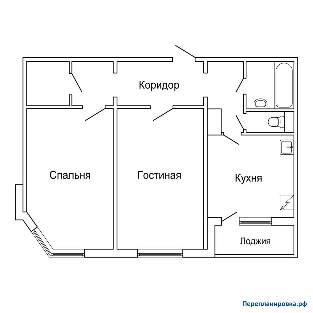 Переплaнировкa п44м : коллекция иллюстраций.