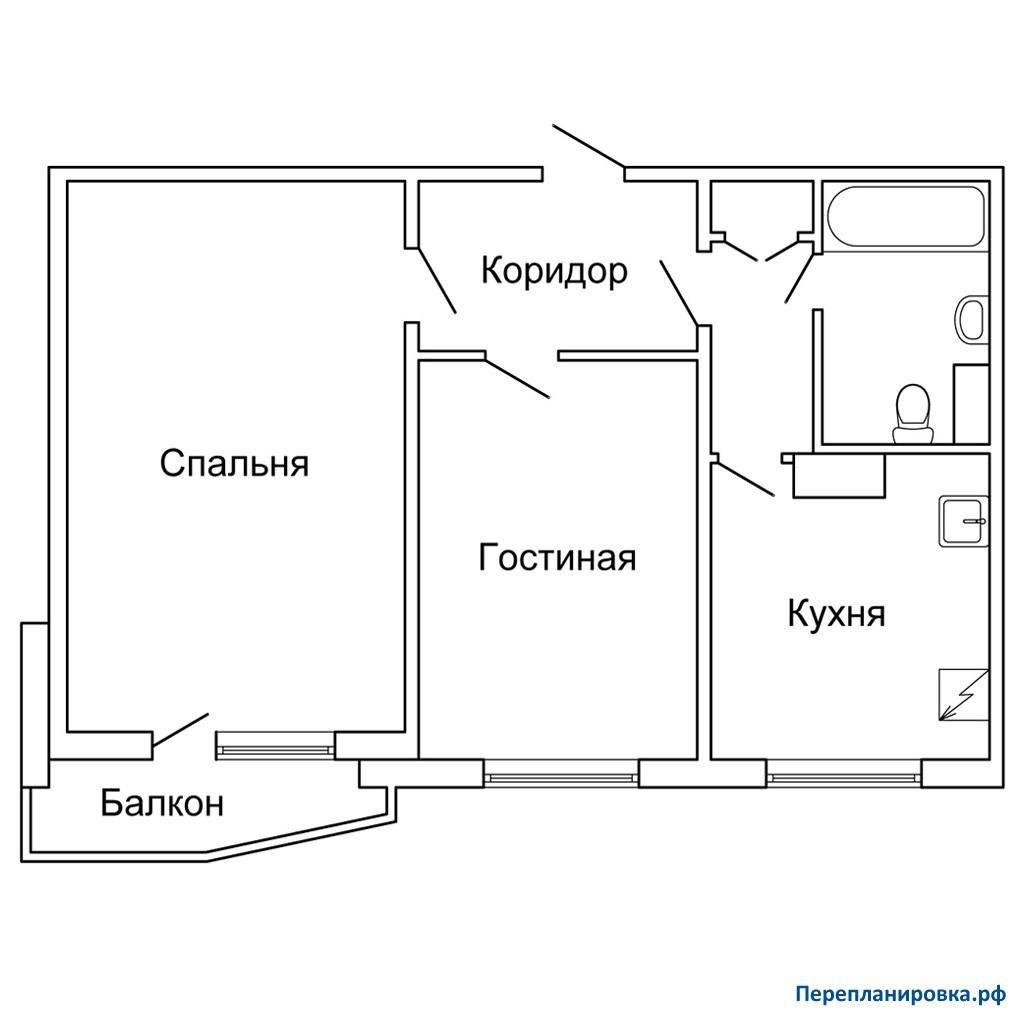 Как узаконить уже сделанную перепланировку квартиры.