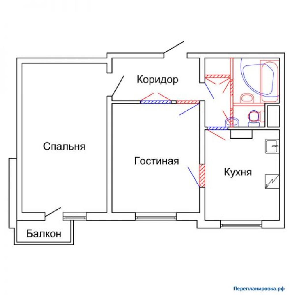 Дом п-3 планировка балконов.
