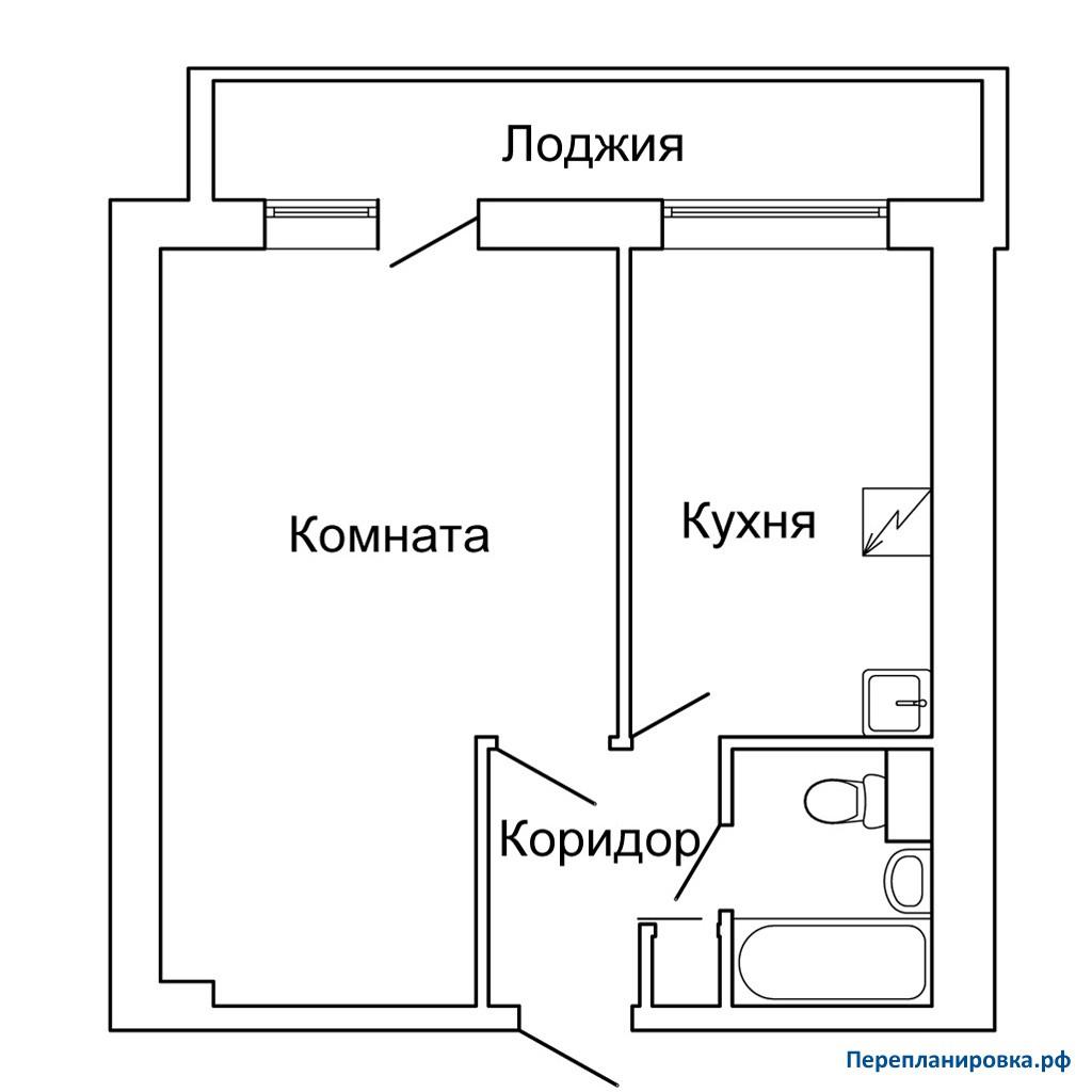Серия дома и 209а перепланировка балкона..