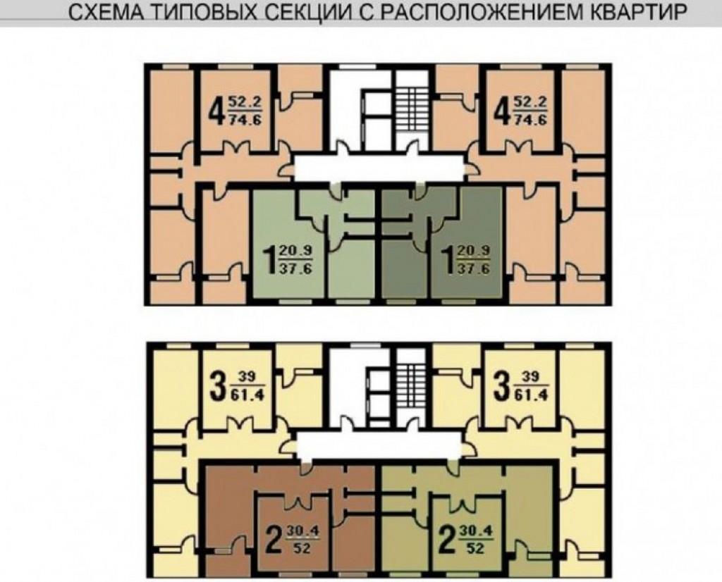 Серия дома п-30. типовая планировка и варианты перепланирово.